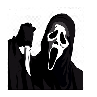 NO TRICK OR TREATS Halloween window//wall//laptop vinyl decal//sticker