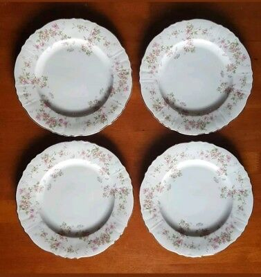Syracuse Pottery Dinner Plates MADE IN USA