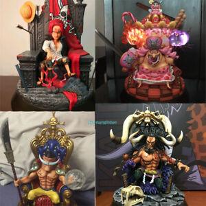 F3 One Piece Four Emperors Full Set Statue Painted Figure Kaido Big Mon 4Pcs GK   eBay