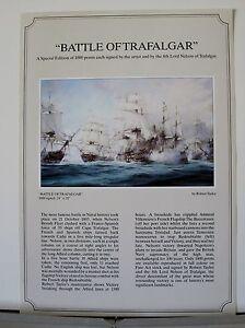 Battle-of-Trafalgar-Naval-Battle-Lord-Nelson-Robert-Taylor-Aviation-Art-Flyer