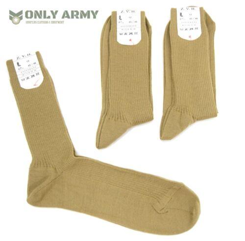 5 x Paires Tchèque armée Chaussure Chaussettes UK 11-13 Robe Uniforme WW2 Style Militaire Chaussette