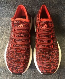 Details about adidas Performance Men's Pureboost Running Shoe Red NWB!! FREE SHIPPING!!!