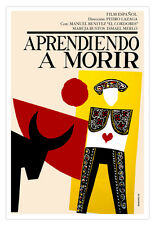 Cuban movie Poster for film.TORERO.Bullfighter art.Home room wall decoration