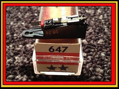 Home Audio Components Ambitious New Astatic 647 Cartridge & Needle/stylus Delmonico Cs1004 Crown 51p81f Ev 5455