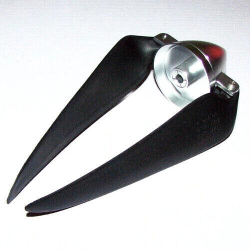 F10-109 Folding Propeller 11x7 with Aluminium Spinner 5mm Adaptor FLYFLY Hobby