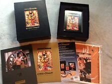 ENTER THE DRAGON BRUCE LEE SPECIAL EDITION DVD BOX SET RARE FILM CELL