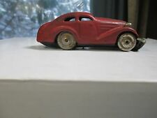 Antique Schuco german windup tin toy car 1930s