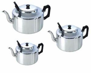 Aluminio 4 litros 6 litros 8 Litros Catering Tetera Cafetera calor persistencia Handl