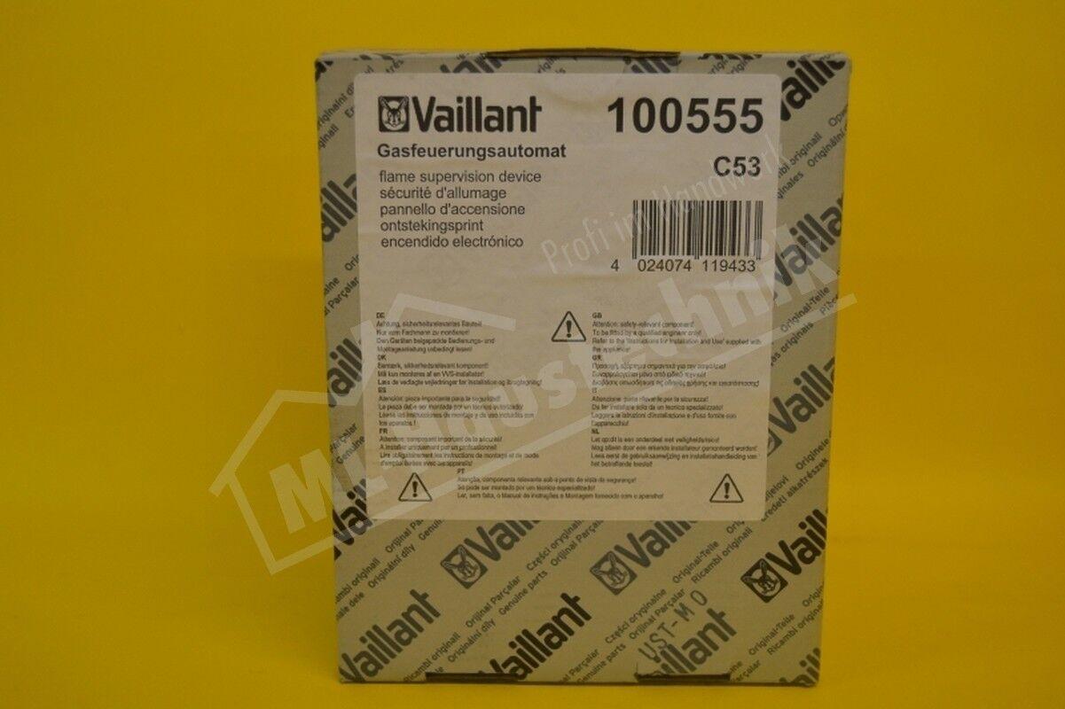 Vaillant Vaillant Vaillant Gasfeuerungsautomat 100555 VC , VCW Feuerungs Automat 9c01c1