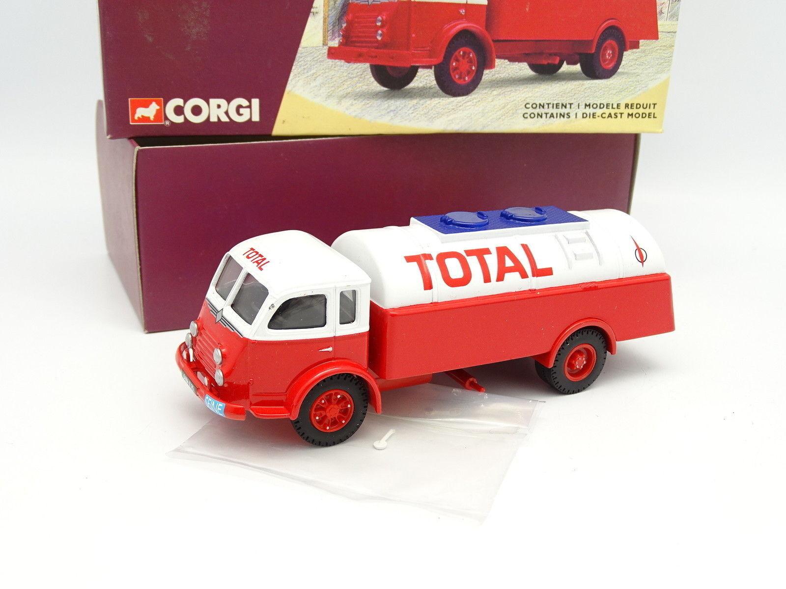 barato en línea Corgi Heritage 1 50 50 50 - Renault Vago Cisterna Total  colores increíbles