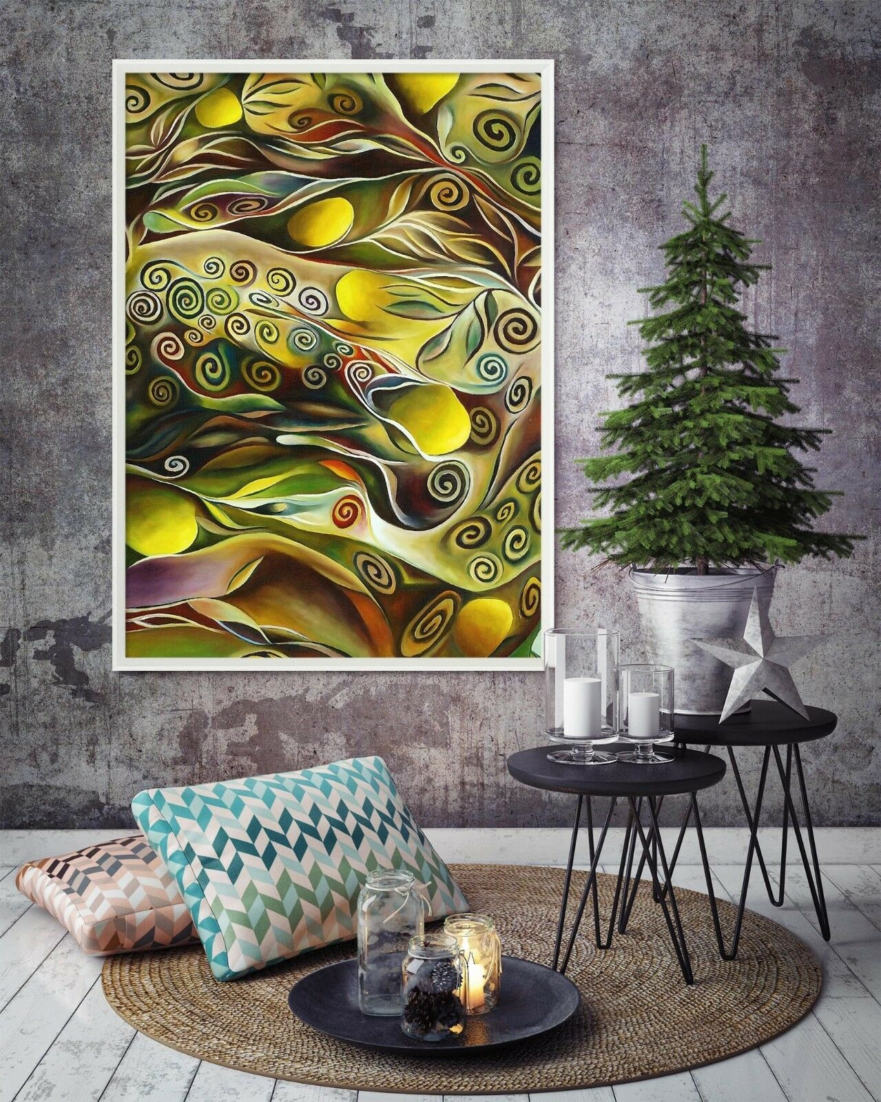 3D Farbe Creativity 445 Fake Framed Poster Home Decor Drucken Painting Unique Kunst