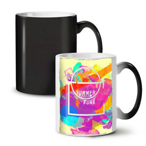 Summer Funk Sunny NEW Colour Changing Tea Coffee Mug 11 oz | Wellcoda