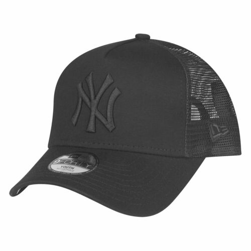 NY Yankees schwarz New Era 9Forty KIDS Trucker Cap