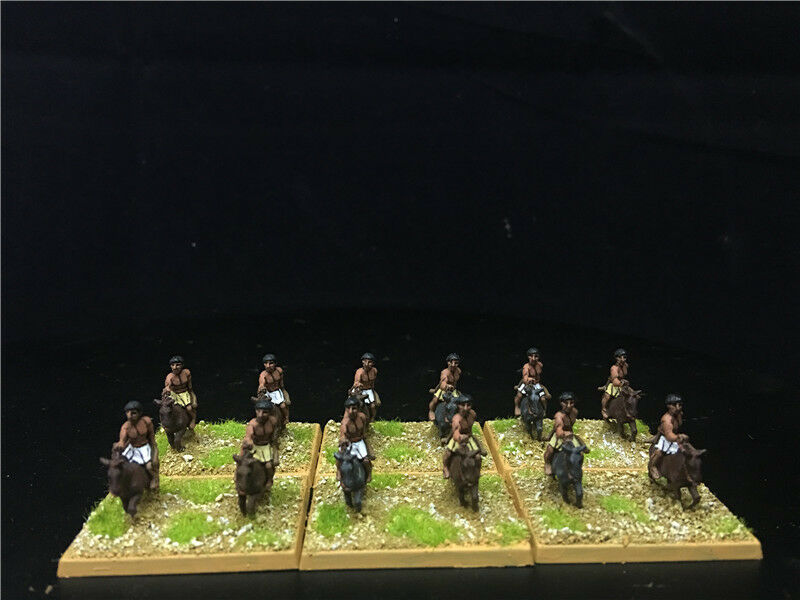 15mm Ancient DBA DPS painted Biblical Light cavalry with bow GH1583