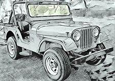AMC Jeep CJ5 CJ6 Baujahr 68-75 Frontscheibe klar Windscreen Windschutzscheibe