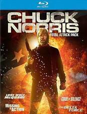 Chuck Norris 4-film Blu-ray set (Delta Force, Missing in Action,Code of Silence)