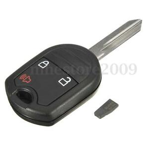 Uncut-Keyless-Remote-Head-Ignition-Transponder-63-Chip-Key-For-Ford-Mercury-New