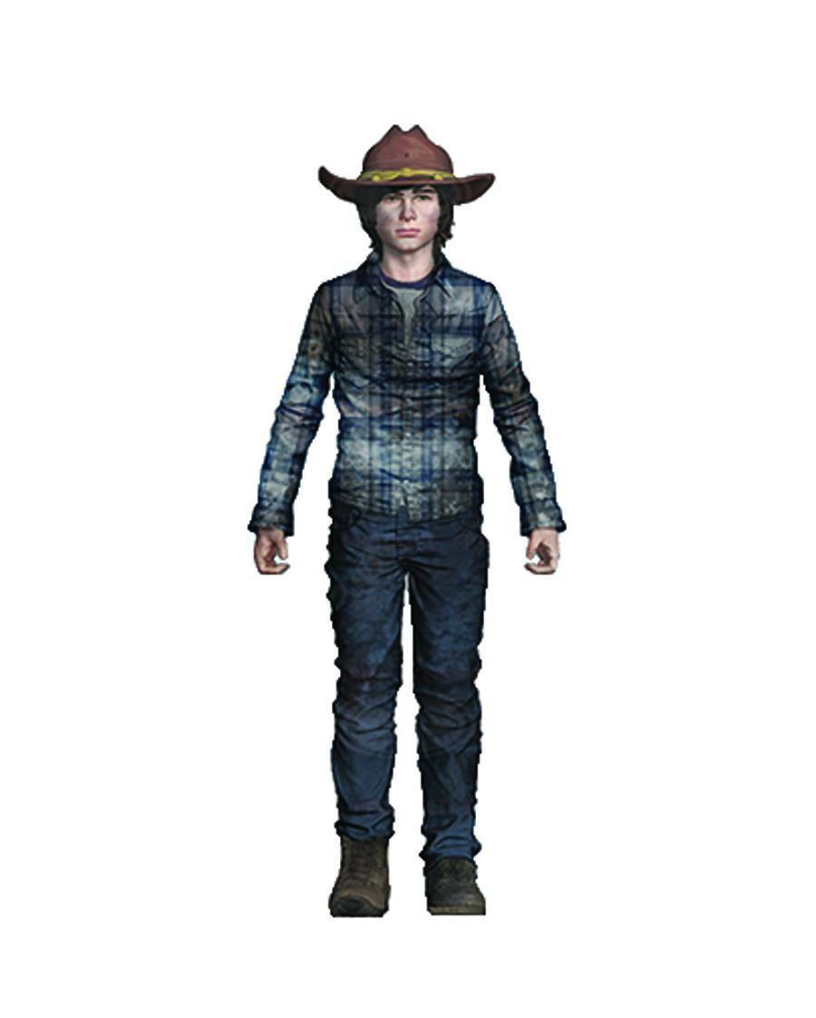 Mcfarlane - Walking Dead Tv - Serie 7 - Carl Grimes - Statuetta Cs