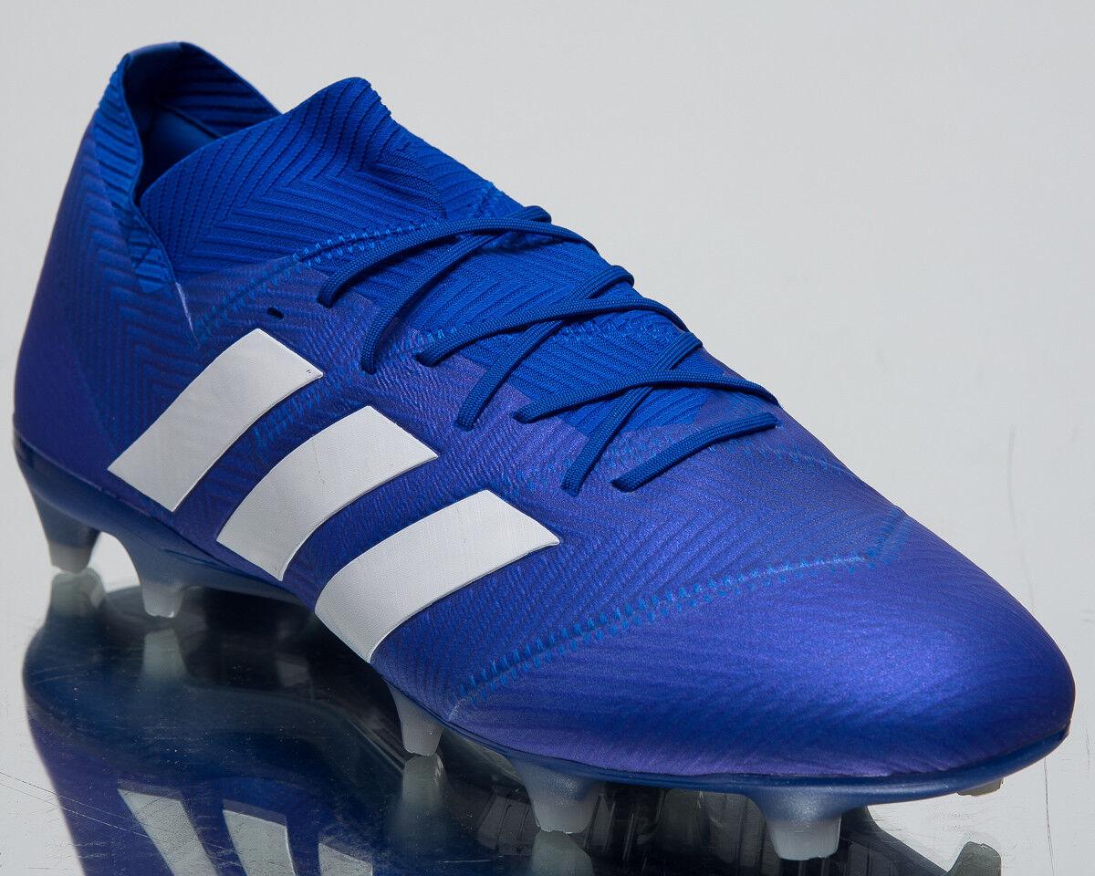 Adidas Nemeziz 18.1 Fg Fg Fg Neu Herren Fußballschuhe Fußball Stollen Blau Weiß DB2080 41ff9e