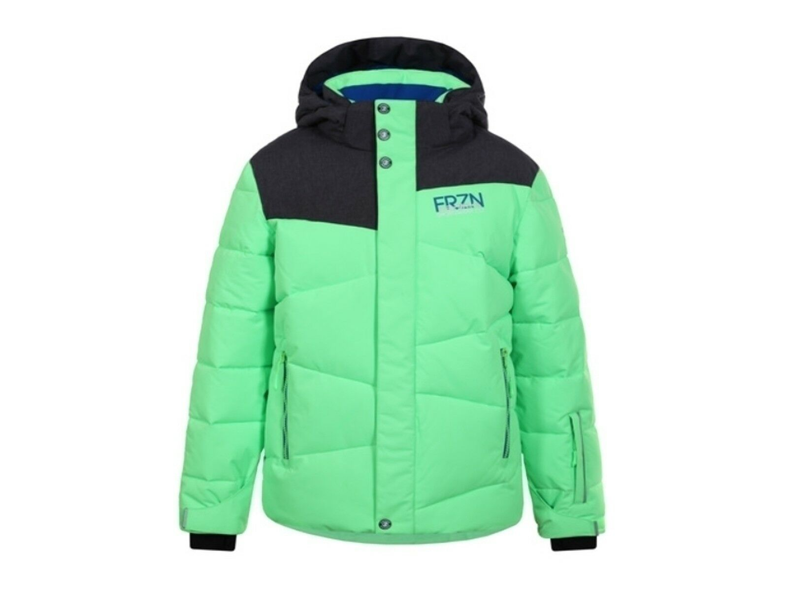 GIACCA SCI JUNIOR ICEPEAK INVERNO 50027 553 527  HOWIE JR GREEN FLUO