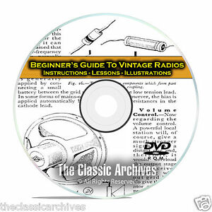 How-to-Repair-Vintage-Radios-Beginners-Novice-Instructional-Guide-Books-CD-C10