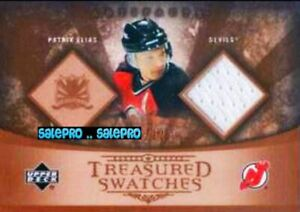 UD-ARTIFACTS-2005-PATRIK-ELIAS-NHL-NEW-JERSEY-DEVILS-TREASURED-GAME-JERSEY-125