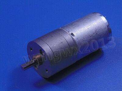 JGA25-370 DC3V 6V 12V 24V Reduction Gear DC Motor with Gearbox for Robots & Cars