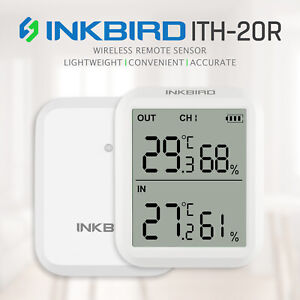 Inkbird ITH-20R Wireless Thermometer Temperature Humidity Hygrometer Remote Read