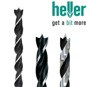 Heller Single 8mm x 120mm CV Brad Point Wood Drill Bit High Quality German Tools