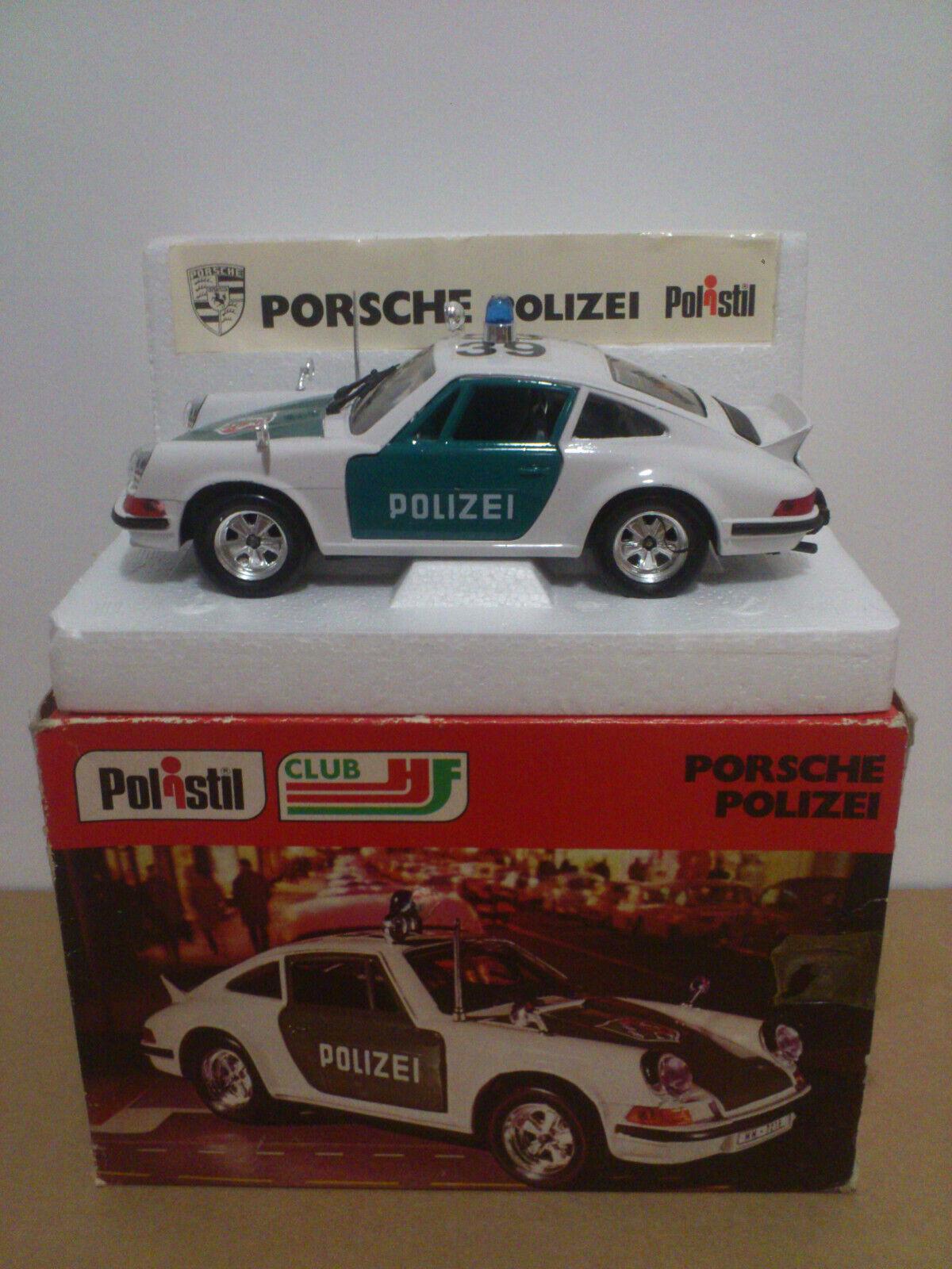 POLISTIL S 22  1 25   PORSCHE 911 POLIZEI    NEUF BOITE  MINT IN BOX