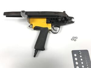 Rebuilt-STANLEY-SC4-Pneumatic-3-4-034-Hog-Ring-Ringer-Light-Weight-Upholstery-Tool