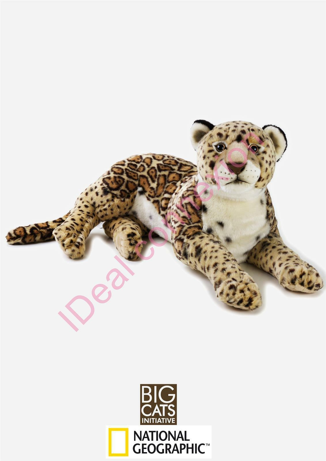 PELUCHE JAGUAR 65CM NATIONAL GEOGRAPHIC