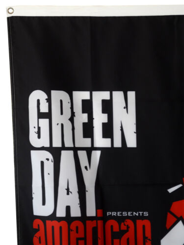 Green Day Greenday American Idiot Cloth Poster Flag 3X5FT US shipper