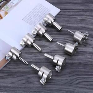 Metal-Nozzles-Heat-Gun-Soldering-Blower-Resisting-Hot-Air-Resisting-Silver