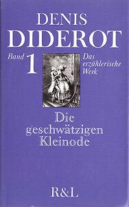 Diderot-Denis-Das-erzaehlende-Werk-Bd-1-Die-geschwaetzigen-Kleinode-1978