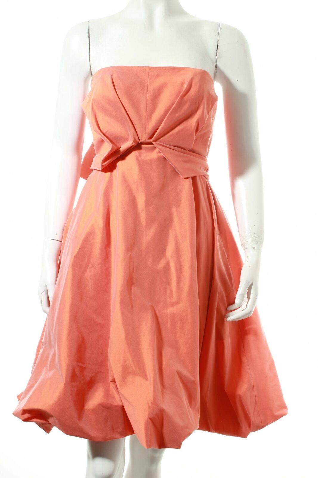 bbf104c7c636 Talbot Talbot Talbot Runhof abito arancione elegante da donna tg. de 36  Dress 1fdad3