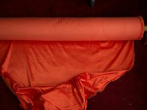 Beautiful-orange-two-way-stretch-lycra-fabric-38-wide-Sold-by-the-metre