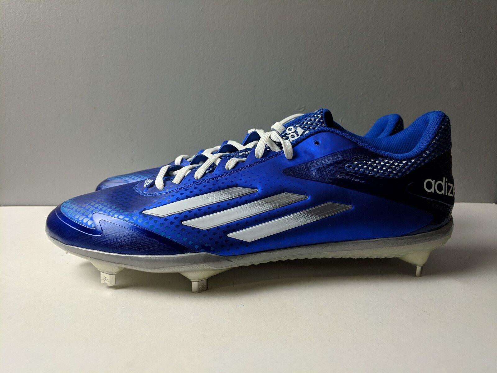 Adidas Baseball Adizero Afterburner 2.0 Men Baseball Adidas Cleat Royal Blue Brand New Size 12.5 fa09f0