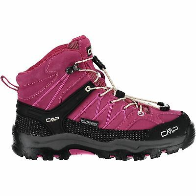 Cmp Trekking Scarpe Outdoorschuh Kids Rigel Mid Trekking Shoes Wp Rosa Tinta-