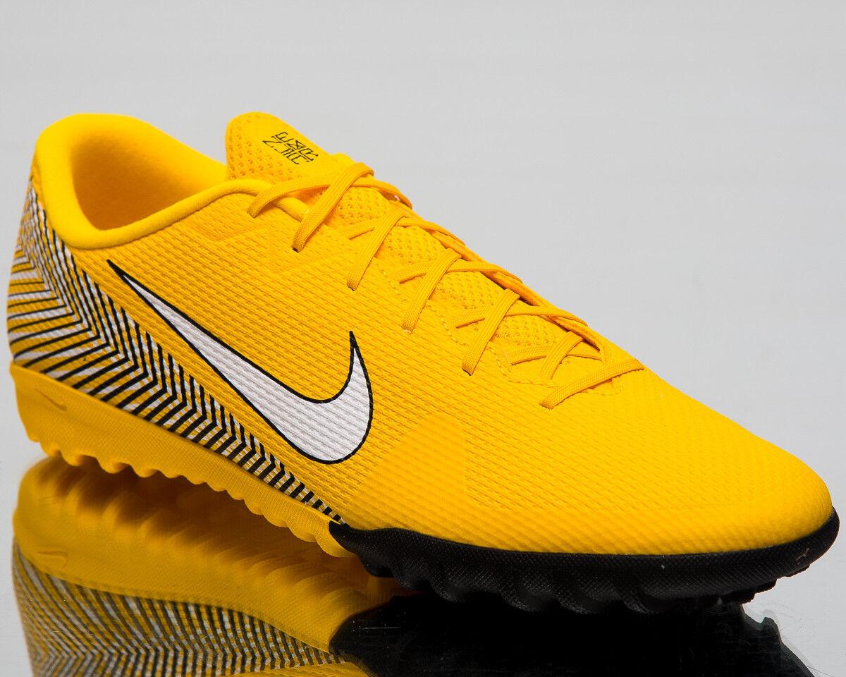 Nike Mercurial VaporX 12 Academy Neymar Jr TF Fútbol Zapatos Amarillo AO3121-710