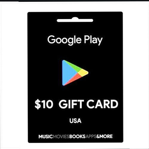 New Gift cart Google play 10$ or 30 Delivery Email Fast You Choose