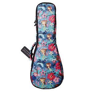 Ocean Mermaid Soft Padded Soprano Ukulele Case Ukulele Gig Bags For 21 Ukulele Ebay