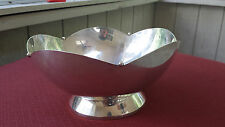 Currier & Roby Serving Bowl Sterling Silver Bowl Ball Edging Pattern #609