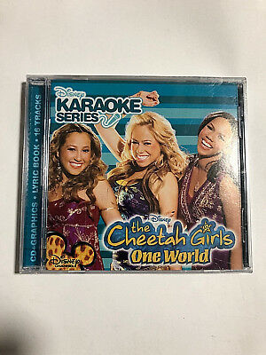 100% Quality Disney's Karaoke Series Cdg The Cheetah Girls One World 16 Trackers Meticulous Dyeing Processes
