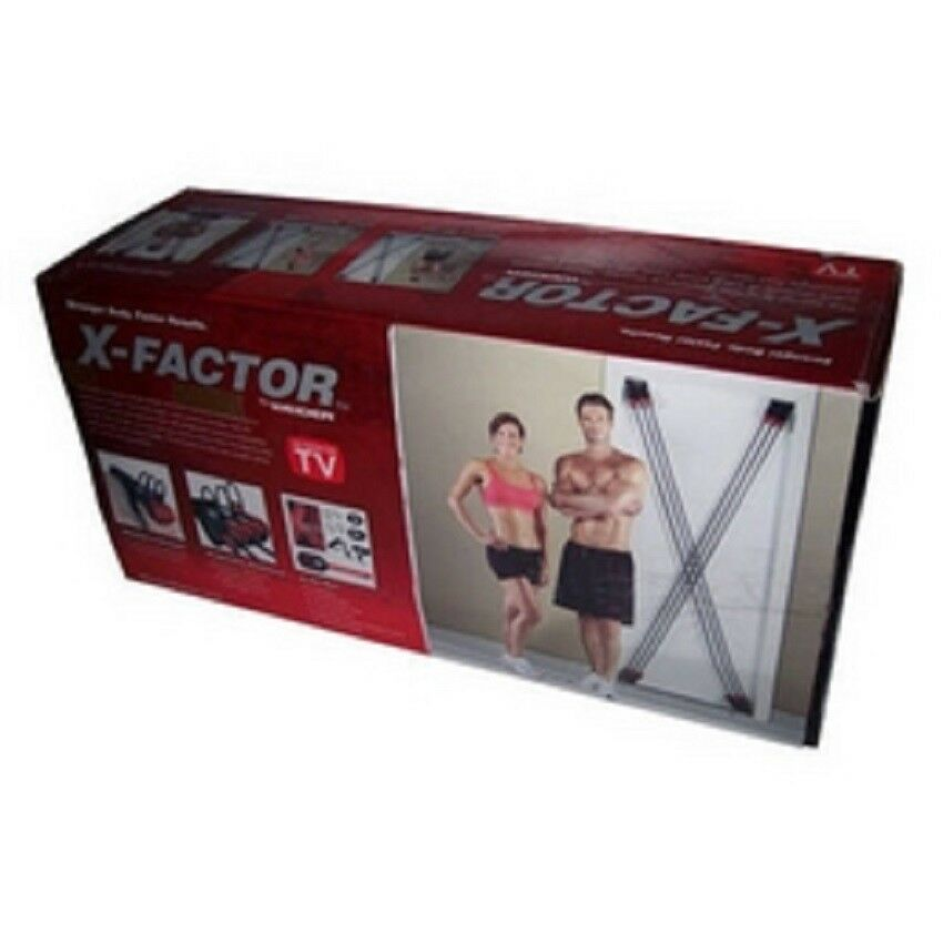 X-FACTOR TOWER 200  STRAPS HOME  WORKOUT GYM DOOR THE BEST  100% authentic