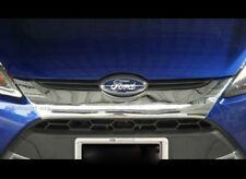 Fit For Ford Fiesta 5 Dr 2010-2014 Chrome Font Grill Cover Trim 1 Pcs
