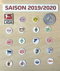 Details Zu Bundesliga Logo Magnete Saison 2019 20 Alle Fussball Vereine Meisterschale Bl