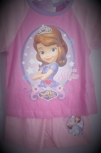 Sofia the First Pyjamas Girls Pink Pjs Disney Pyjama Set 100/% Cotton T2TC398