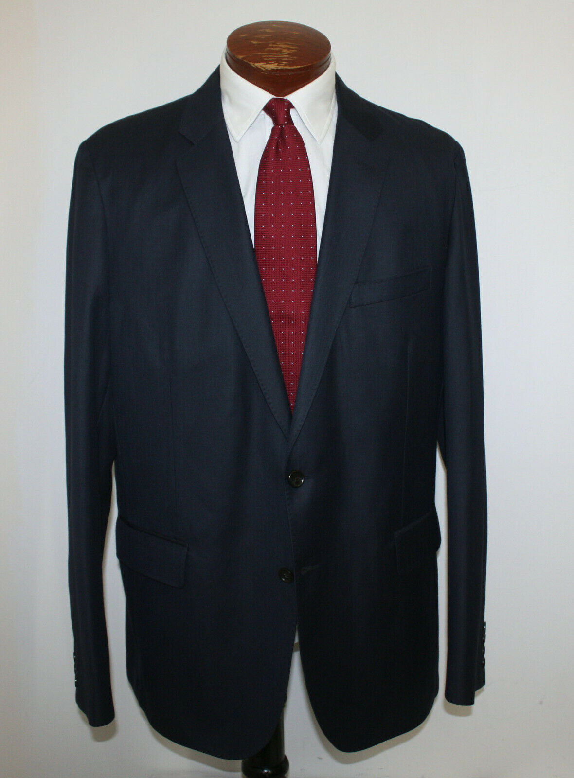 J Crew Ludlow Slim-Fit Unstructured Blazer In American Wool Navy Unlined 46L