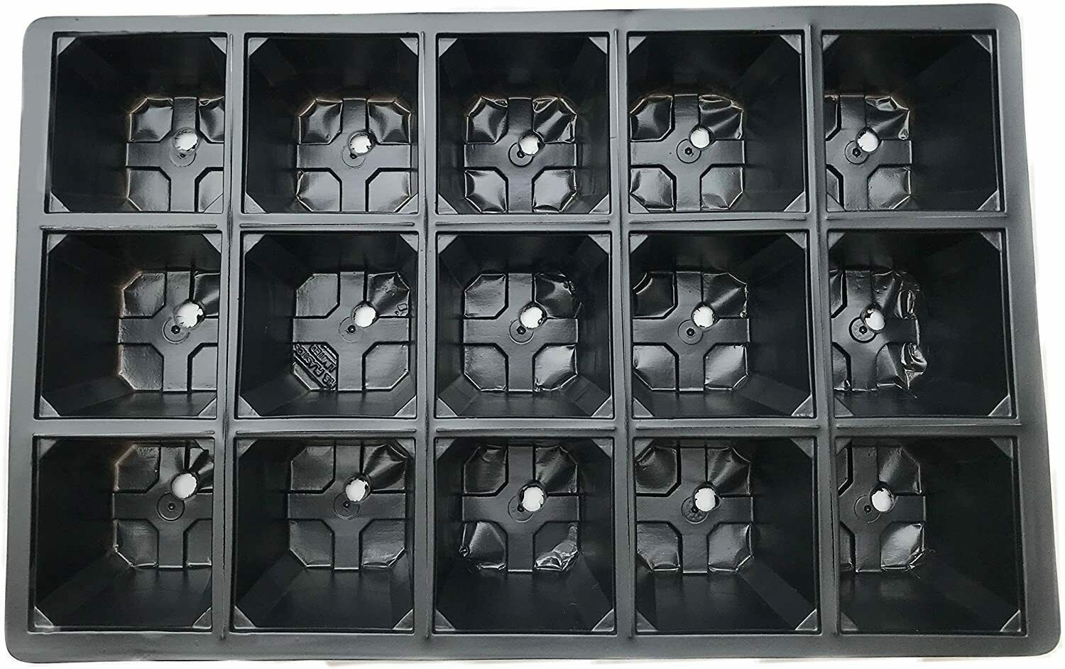 15 Cell Packof 60 Professional Grade Seed Trays Bedding Plant Seed Propagat Tray